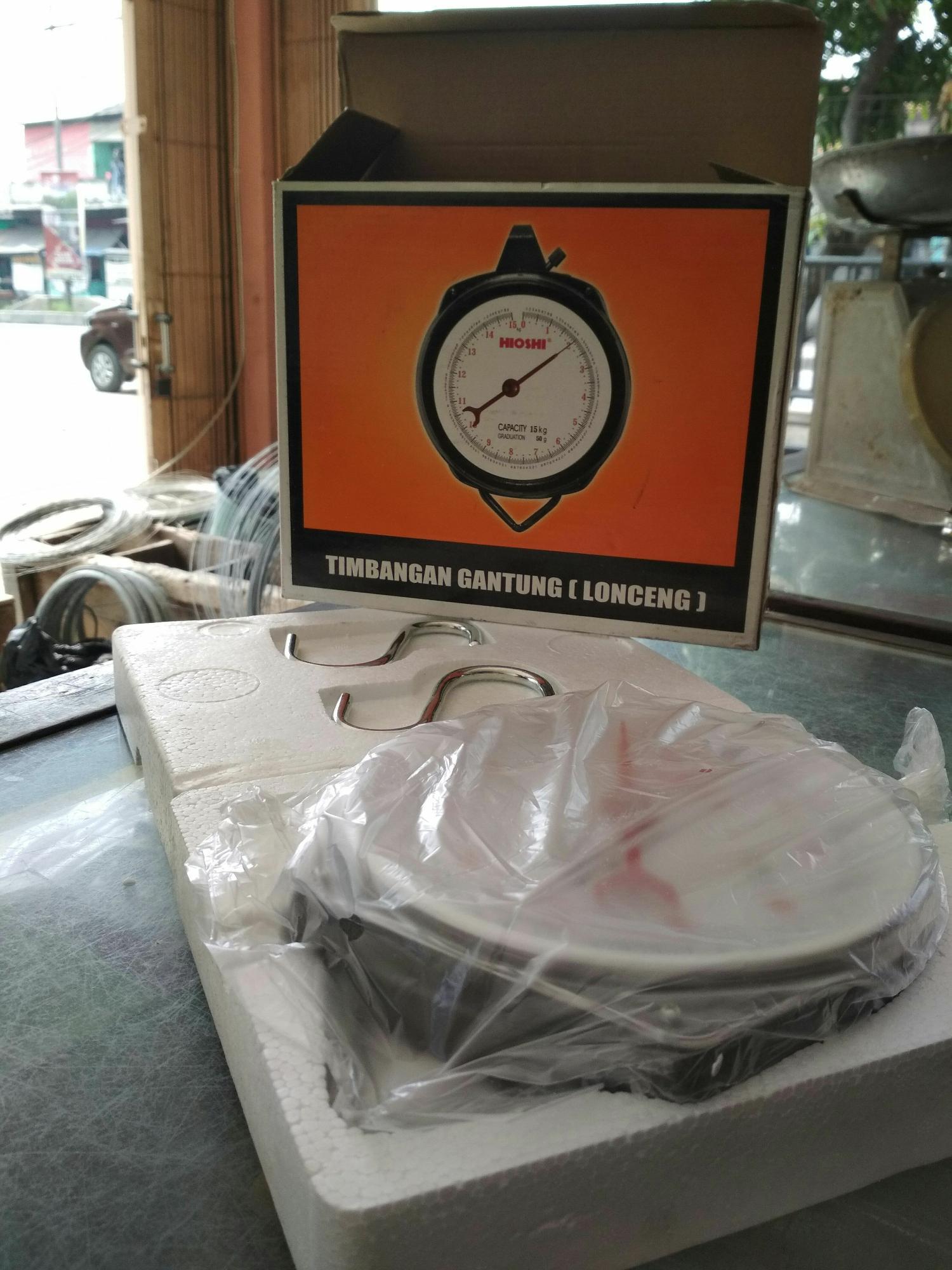 Timbangan gantung ( lonceng) 15 kg