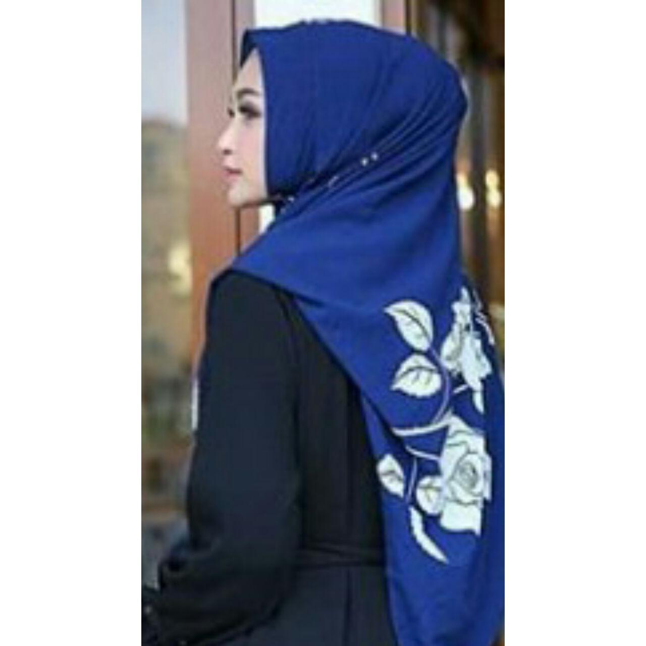 Harga Mooie Pashtan Bunga Jilbab Instan Cantika Pashmina Instan Fristy Pastan Hijab Kerudung Pashmina Instan Devany Baru Murah