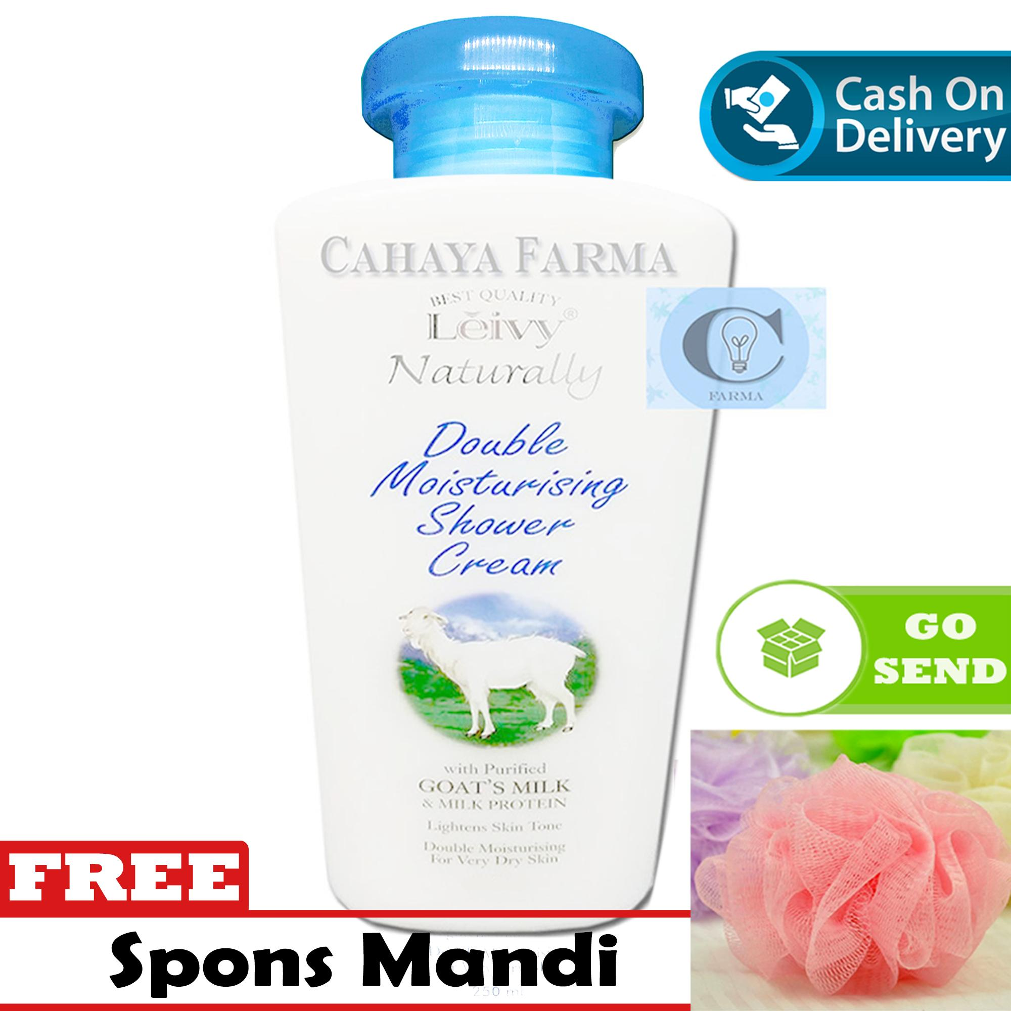 Leivy Shower Cream 250ml Hand And Body Lotion 270ml 2 Item Buy Botol Get Free Refill Soaps Gels