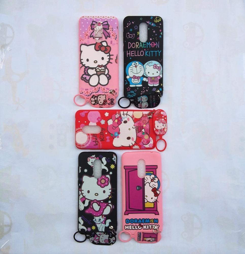 Detail Gambar Redmi 5 Plus Softcase Gambar Hello Kitty Free Gantungan Lucu Terbaru
