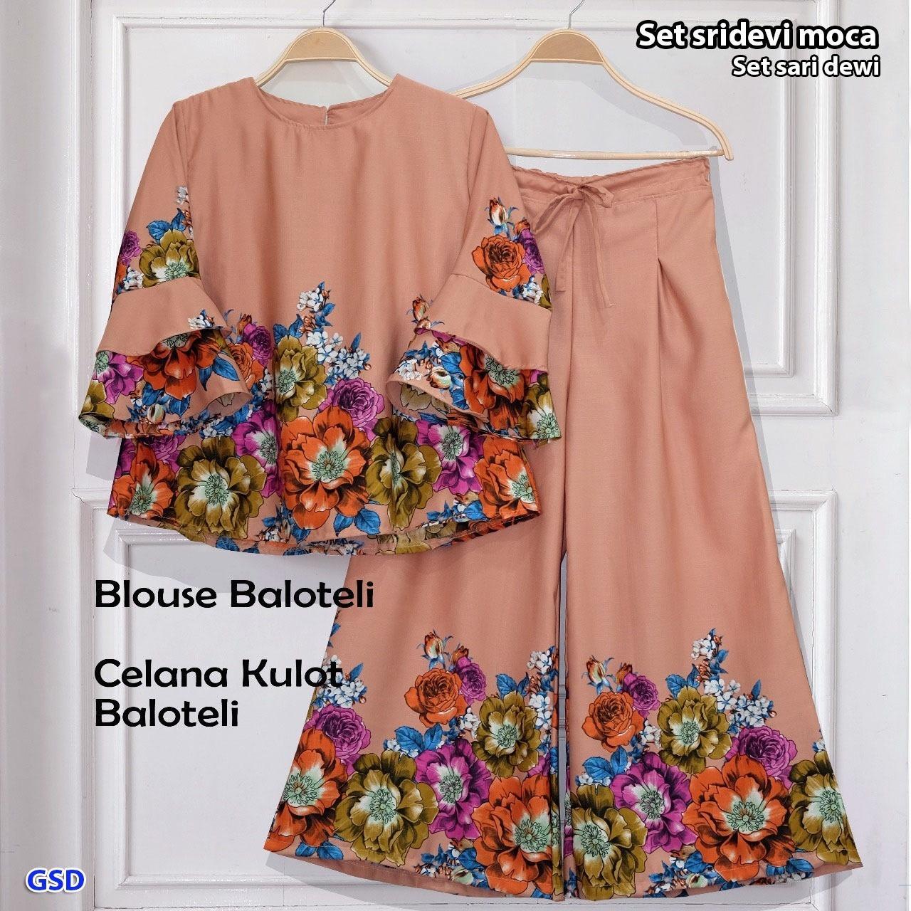 GSD - Baju Wanita / Celana Kulot / Baju Atasan / Blouse Wanita / Setelan Wanita / St Sari Dewi