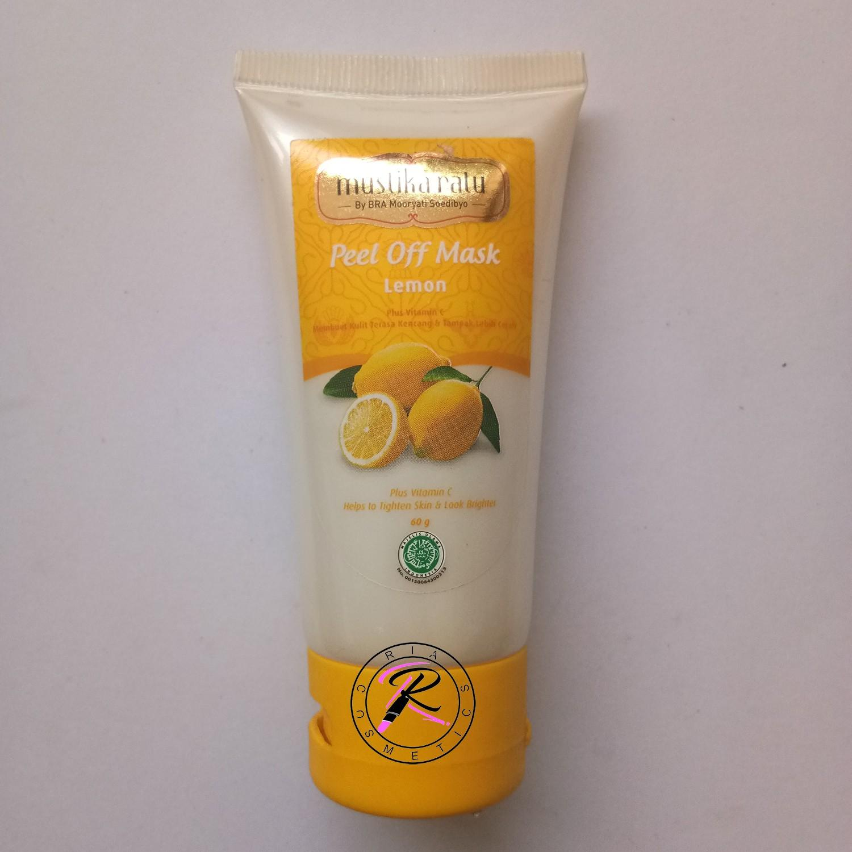 Mustika Ratu Peel Off Mask Lemon 60g