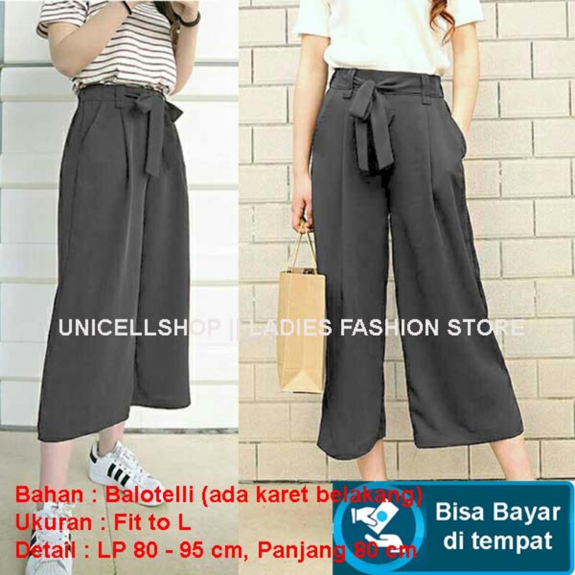 TERBARU Celana Kulot Import Bahan Bagus Kulot Polos / Kulot Pendek / Short Pants Cullote Modis