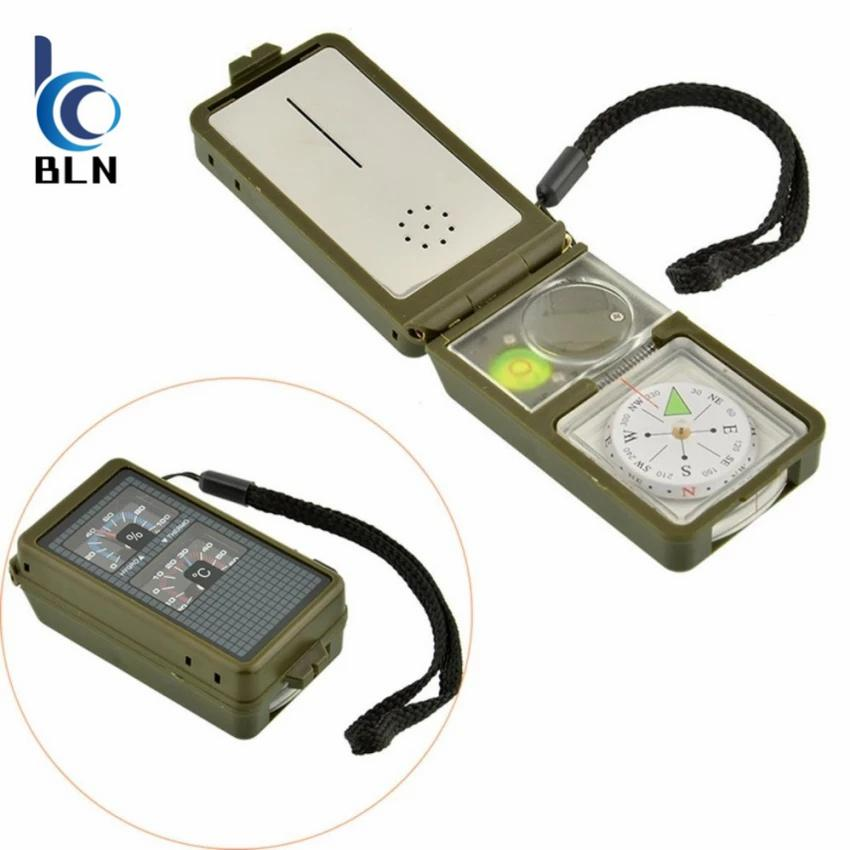 Jual Cepat 【Bln Outdoor】Multifunction 10 In 1 Outdoor Military Camping Hiking Survival Tool Compass Sos Whistle Kit