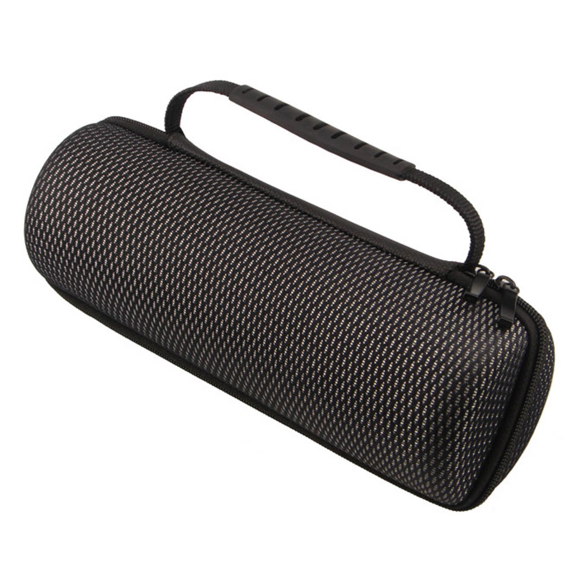 Detail Gambar Portable EVA Shockproof Waterproof Wireless Bluetooth Speaker Storage Carry Case Bag Cover for JBL Flip 1 2 3 4 Hiking Travel Outdoor (Black) ...