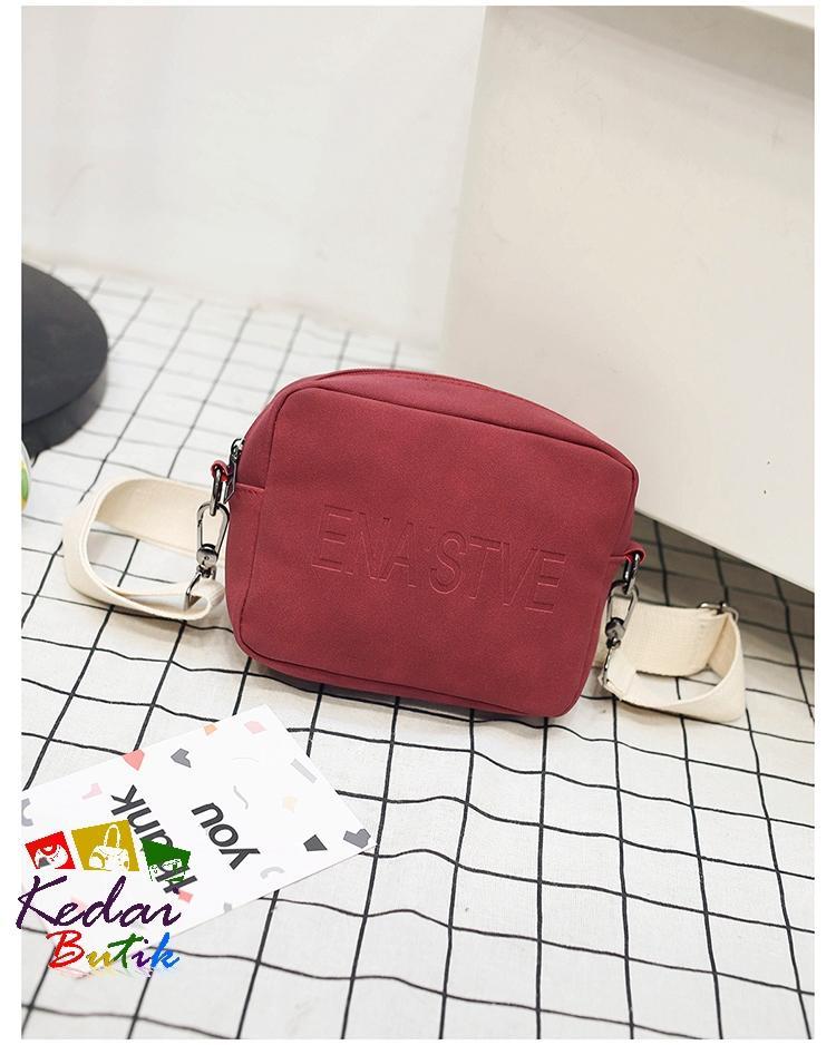 Kedaibutik-031 Tas Jelly Glossy Matte Premium / Tas Korea / Tas slempang / Tas
