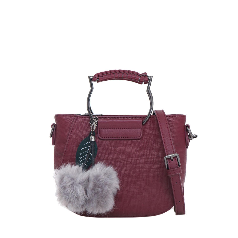 Elizabeth Bag Bresha Hand Bag Maroon