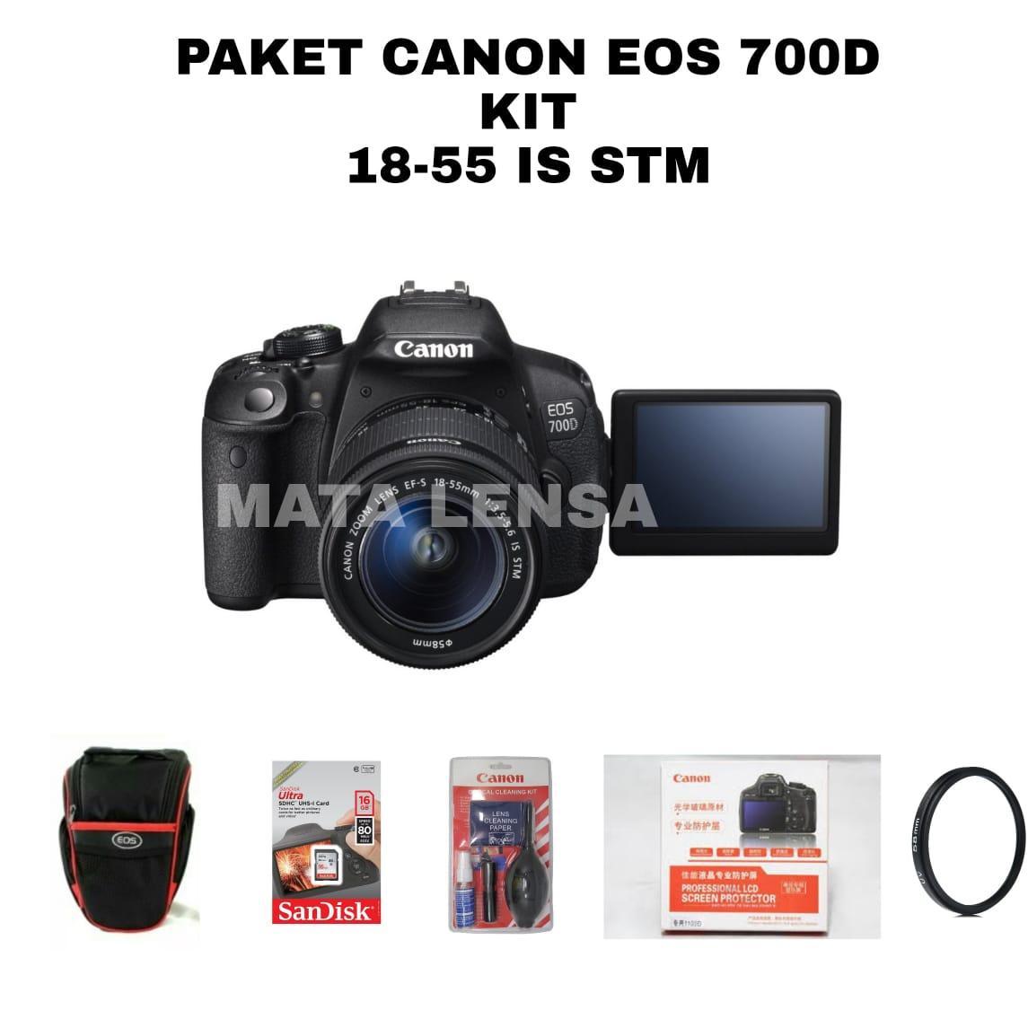 Spek Harga Canon Eos 1200d Is Kamera Dslr Lensa Kit 18 55 Mm Mp 55mm Promo Paket Camera 700d Stm Original Garansi 8497800 Update New