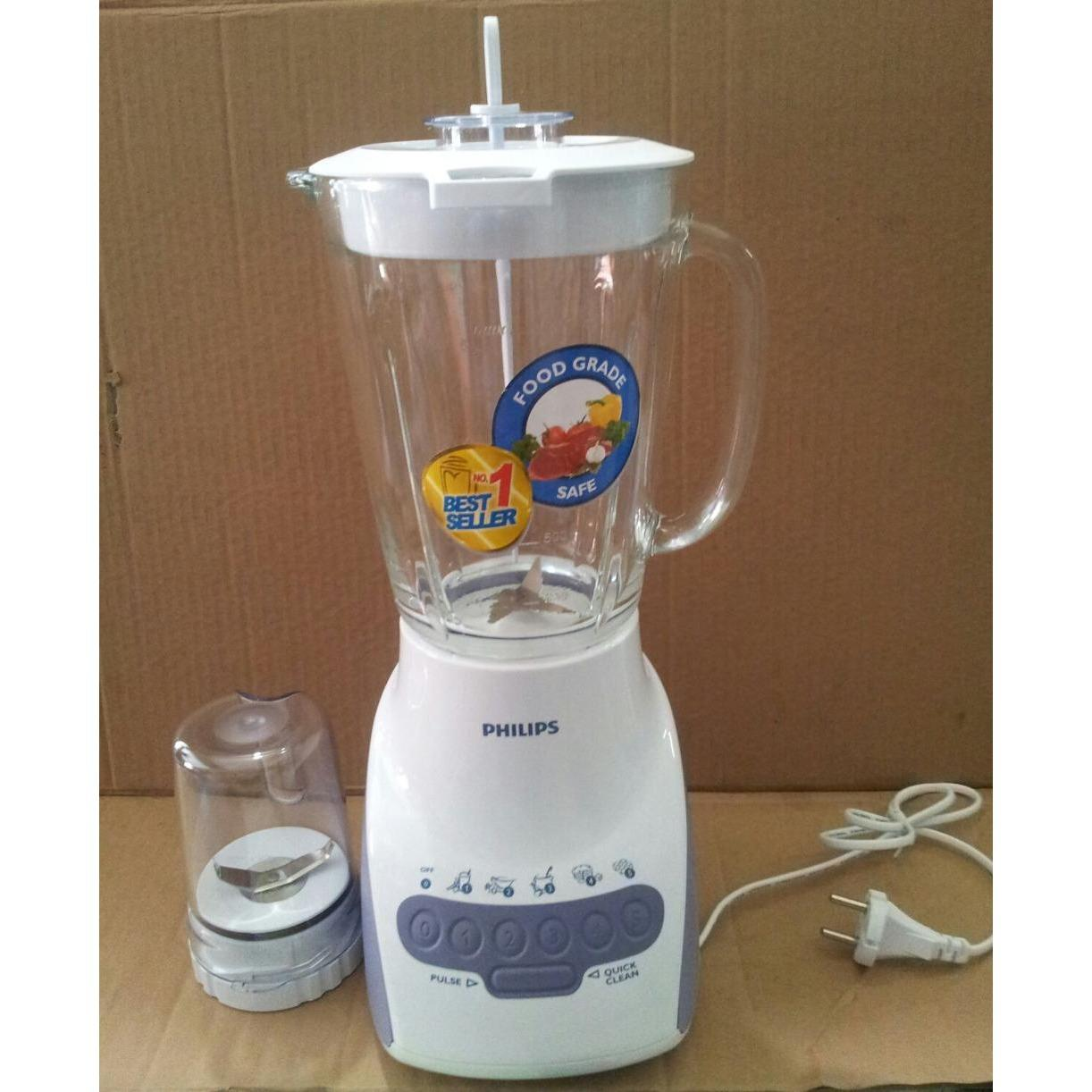 PHILIPS - BLENDER - TERLARIS - BEST SELLER - Blender Philips Kaca HR 2116 -  TERMURAH - ALAT DAPUR