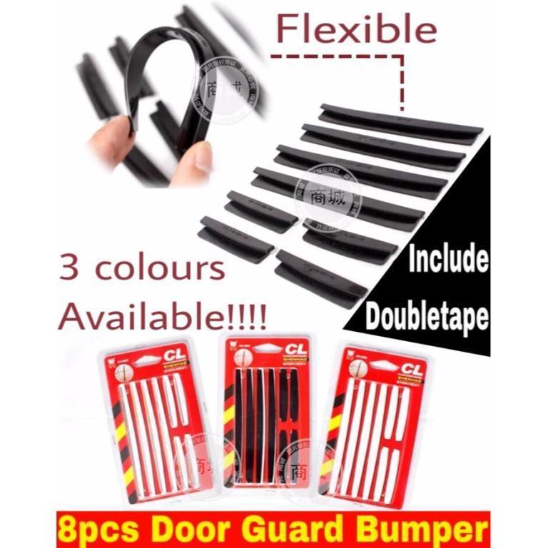 Sien Collection Pelindung Pintu Mobil 8 Pcs / Slim Door Guard Protector Universal / Bumper Mobil