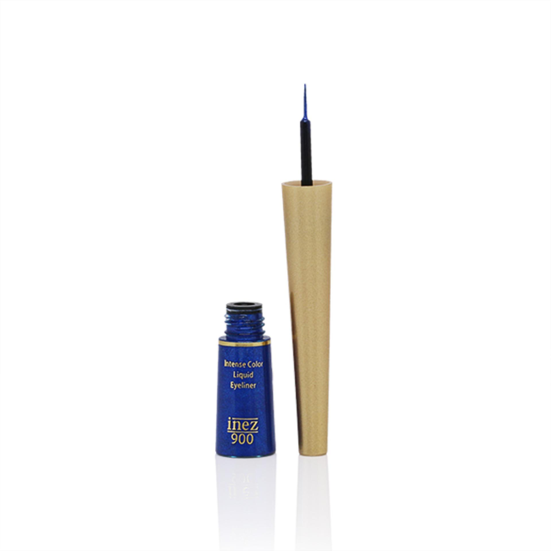 Kelebihan Inez Intense Color Moisturizing Lipstick 08 Sparkling Liquid Eyeliner Royal Blue