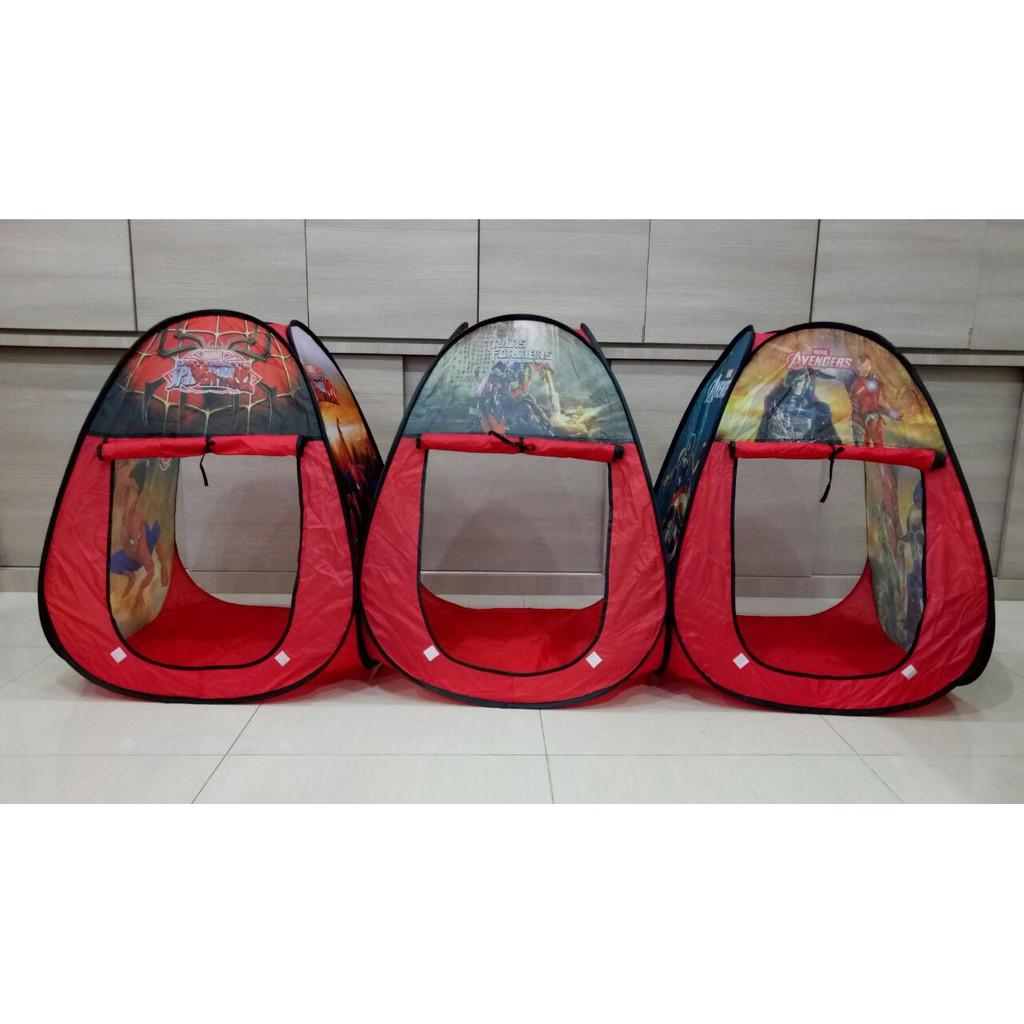 Detail Gambar Tenda Anak Gambar/ Mainan Rumah / baby tent / Camping / Tent kastil