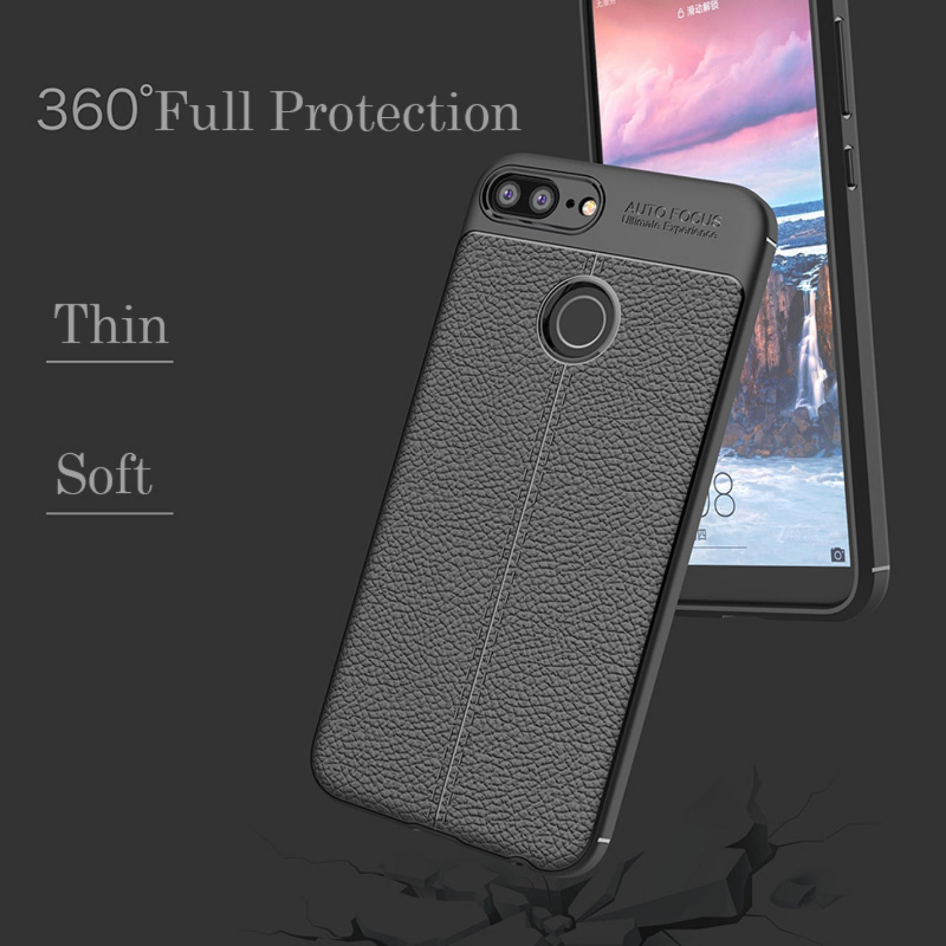 Caselova Ultimate Experience Shockproof Premium Quality Hybrid Case For Huawei Honor 9 Lite - Hitam + ...
