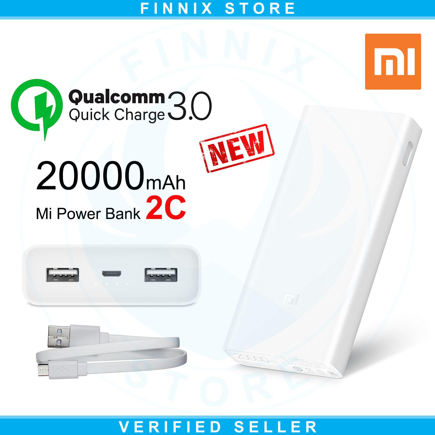 Ulasan Mengenai Xiaomi Mi Power Bank 20000Mah 2C Two Way Quick Charge 3 New White