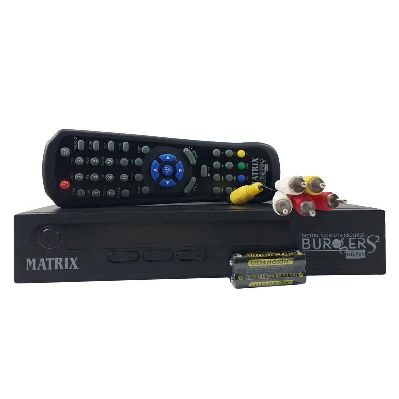 Matrix Burger HD S2 AVS+ Receiver Parabola