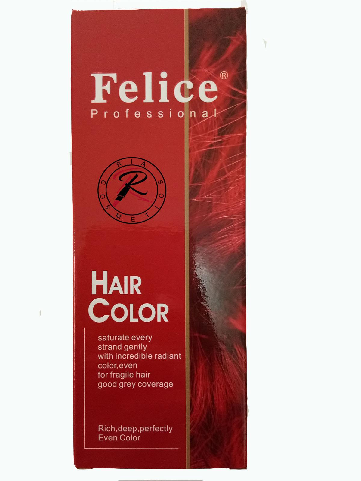 Felice Hair Color / Cat Rambut Light Copper Brown No 5/4