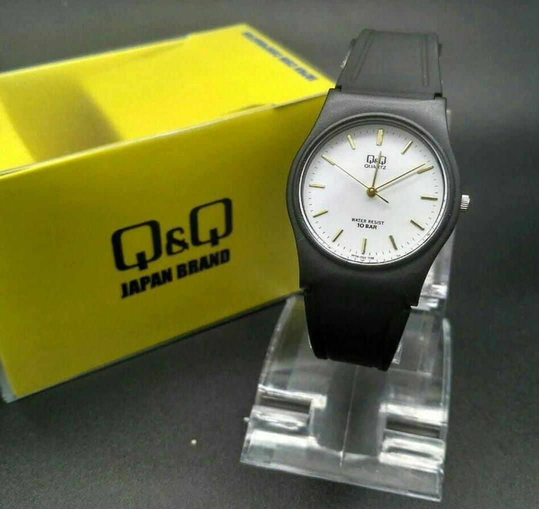 QQ Original - Jam Tangan Wanita/Remaja - Model Kasual - Rubber Strap - Jam Tangan Anti Air