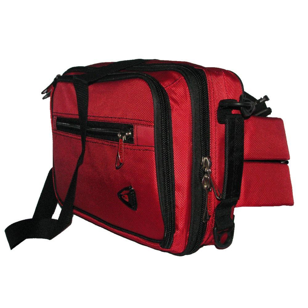 Tas 3in1 / Selempang /Ransel / Jinjing Waterproof Notebook 12 inci - Merah