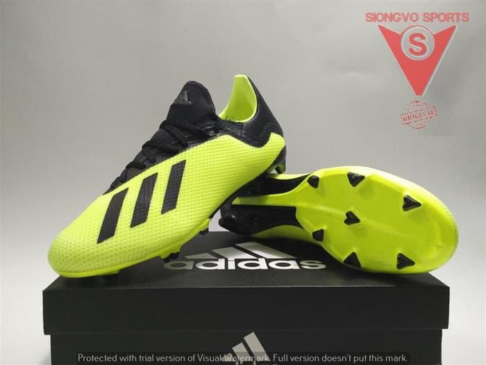 Features Sepatu Bola Adidas X 18 3 Fg Original  db2183 Syellow New ... a5d9f699a3307