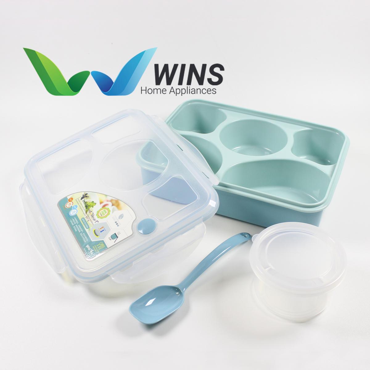 Cek Harga Baru Lunch Box 5 Sekat Yooyee 393 Kotak Bekal Makan Sup Bento Set 3
