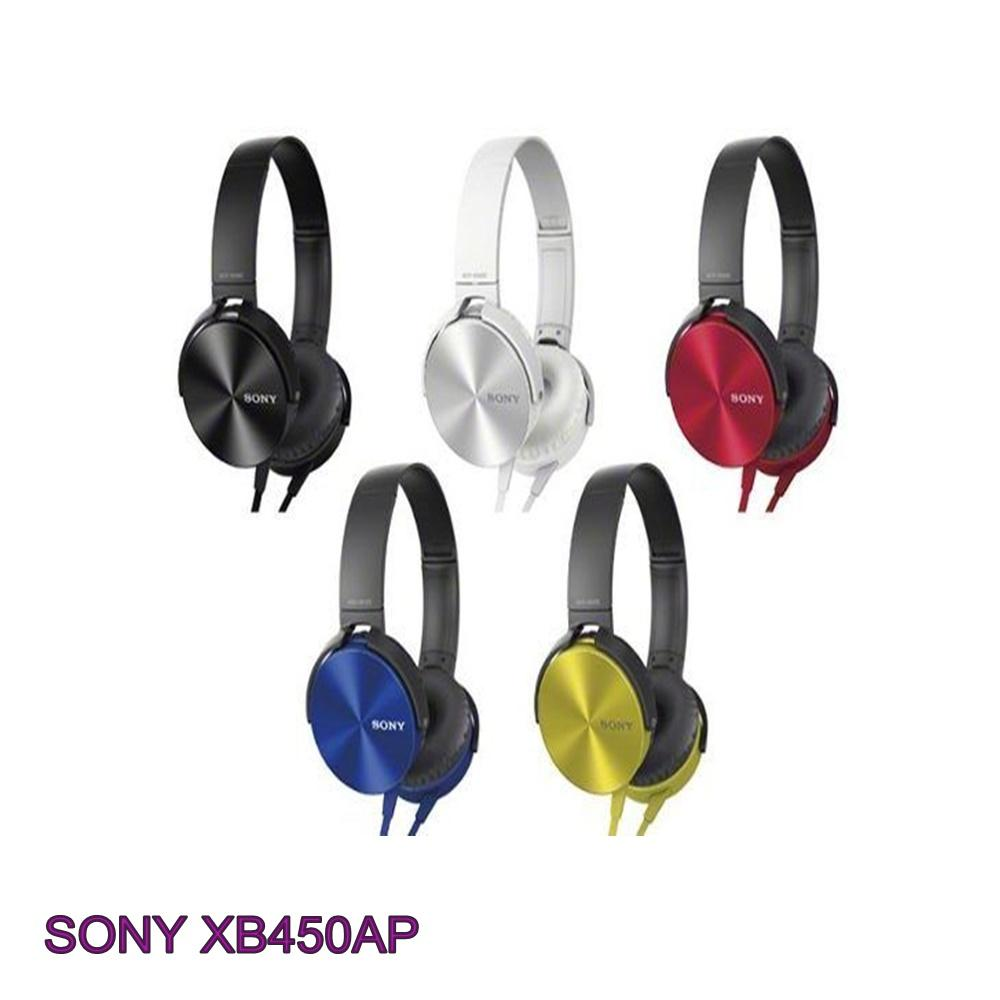 PROMO~EXTRA BASS MDR-XB450AP Headphones HeadsFree Sony Extra Bass ORIGINAL