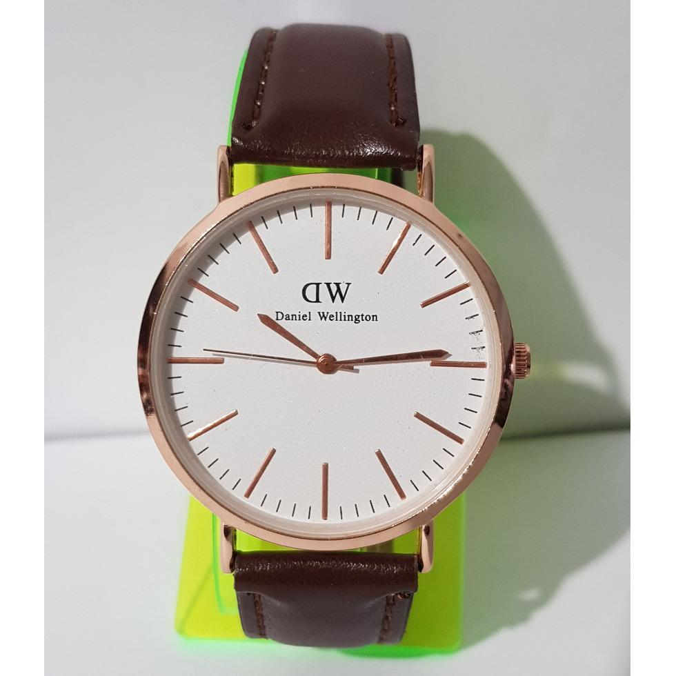 Jam Tangan Pria DW Daniel Welington Fashion Formal Kulit Man's Leather Strap