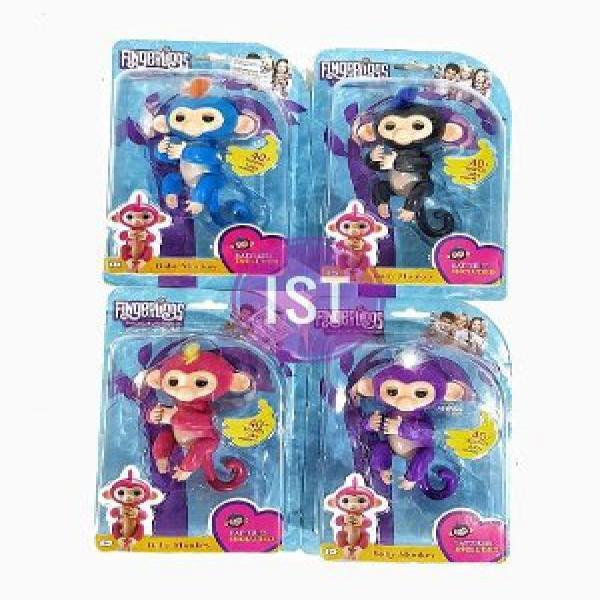 Kelebihan Squishy Murah Pink Cheeka Monkey Dan Harga Lengkap - Info ... - Mainan Fingerlings Baby Monkey Finger Monkey