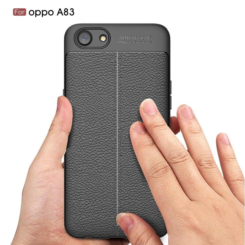 Case Auto Focus Oppo A83 Leather Experience Slim Ultimate - 4 .