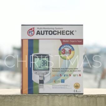Beli sekarang Autocheck GCU 3 in 1 - Alat Tes Gula Darah Kolesterol dan Asam Urat terbaik murah - Hanya Rp273.300