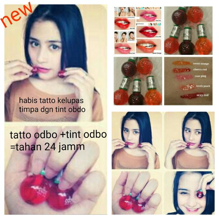 ODBO MINI TATTO ORIGINAL / TATTO BIBIR / Obdo Tato Bibir / Lips Tatto