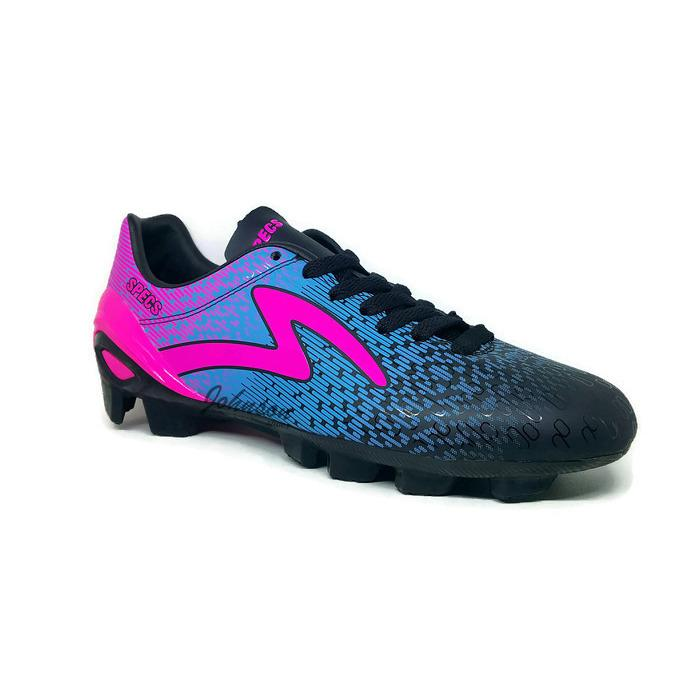 [ Johnson Shoes ] Sepatu Sepak Bola SPECS PHOTON FG Black / Rock Blue / Scandinavian