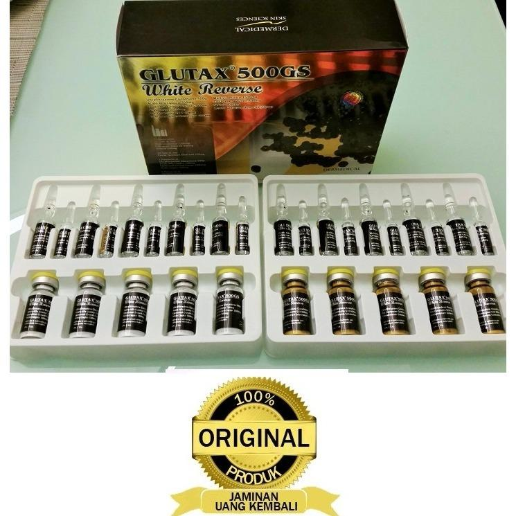Beli Glutax 500Gs White Reverse 100 Original Made In Italy Yang Bagus