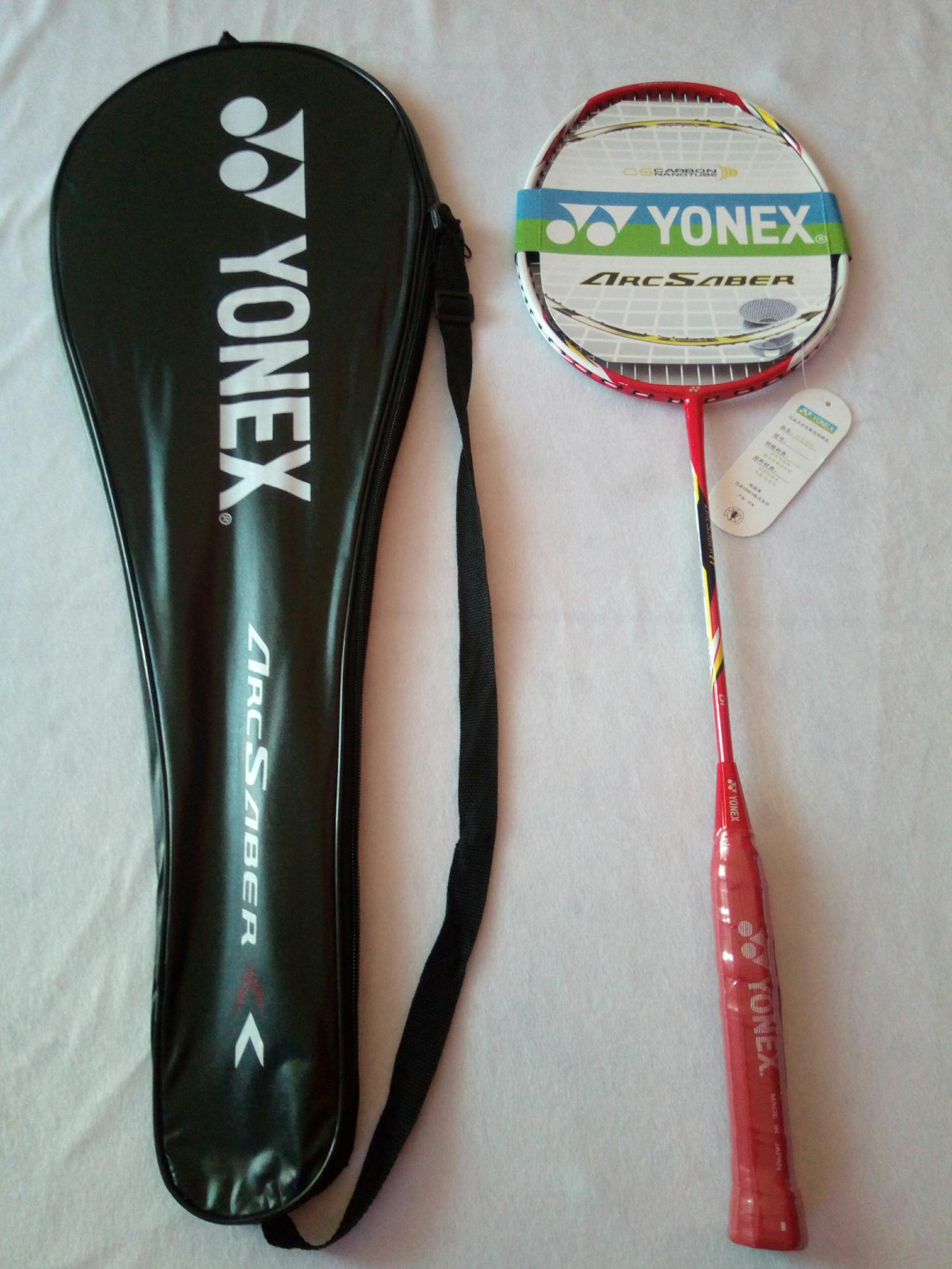 Cek Harga Baru Raket Badminton Yonex Arcsaber 6 Import Free Tas Dan Grade Super 11import