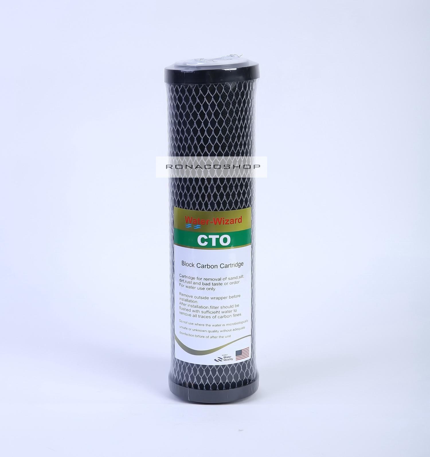 Kelebihan Ronaco Full Set 2 Buah Filter Air Dengan Nano 5 10in Mikron Dan Actived Carbon Block