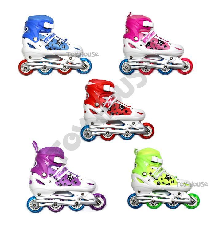 Mainan Anak Perempuan Laki Laki Sepatu Roda Anak Harga Grosir - Inline  Skate Murah 5b336b9aea