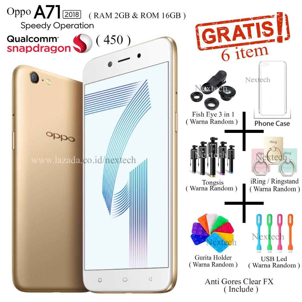 Review Pada Oppo A71 2018 Ram 2Gb Rom 16Gb 4G Lte 5 2 Snapdragon 450 Gold