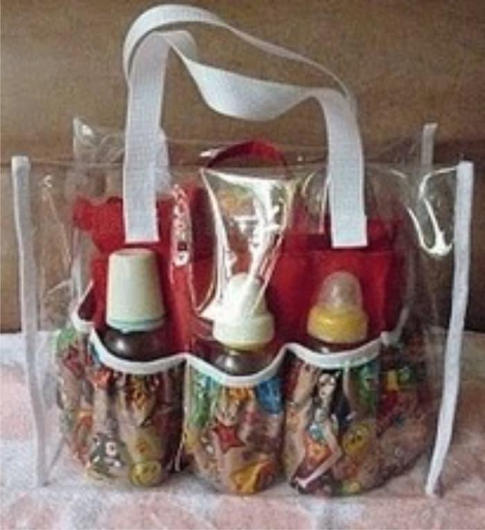 Detail Gambar Tas Bahu Mika Transparan Wanita Tote Shoulder Bag Women  Handbag Terbaru 21db5659f9