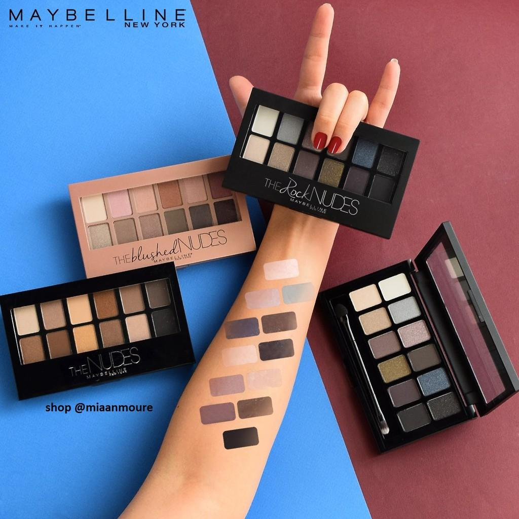 Maybelline The Rock Nudes Eyeshadow Palette The Rock Nudes
