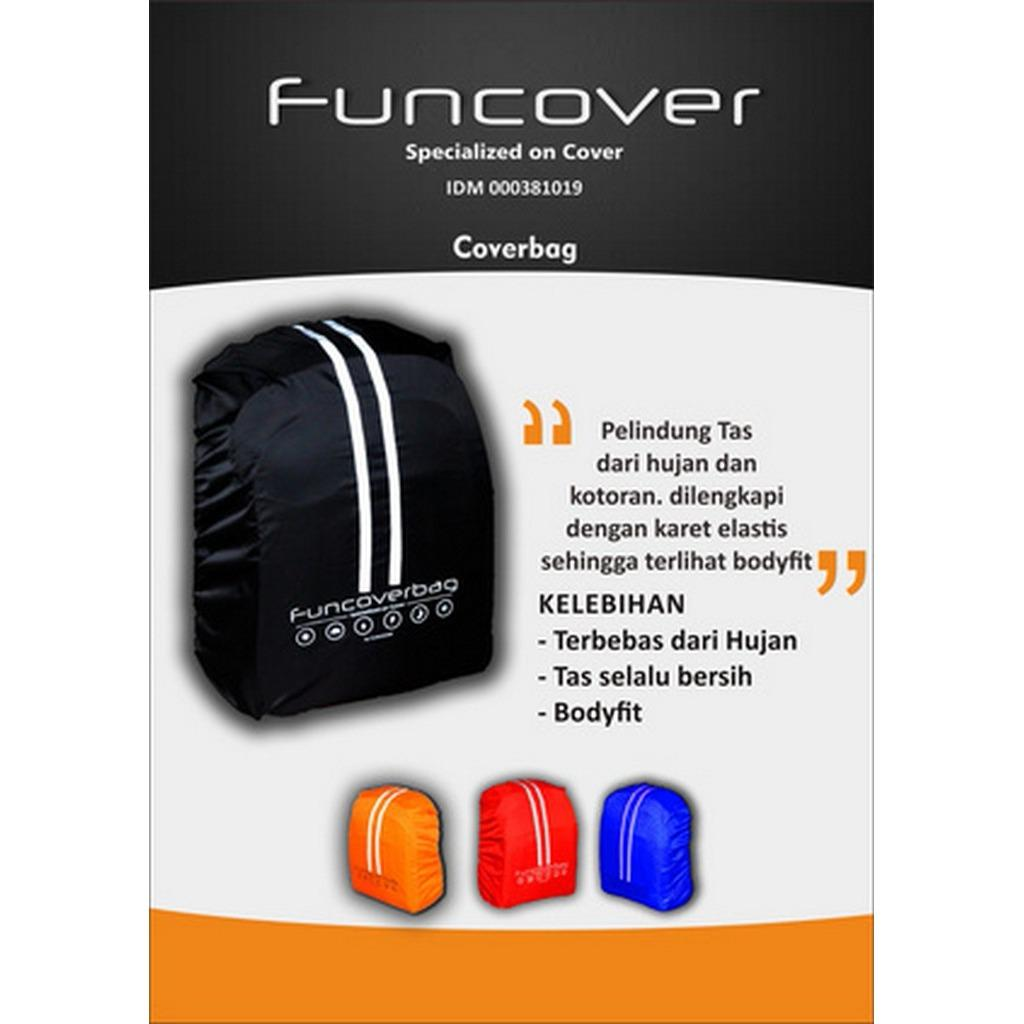 Harga Raincoat Cover Bag Backpack Tas Funcover 30L Promo Murah Terbaru