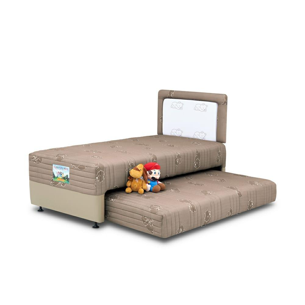FREE ONGKIR Kasur Spring Bed Musterring 2in1 Symphony Kids Porto - 90x200 Full Set
