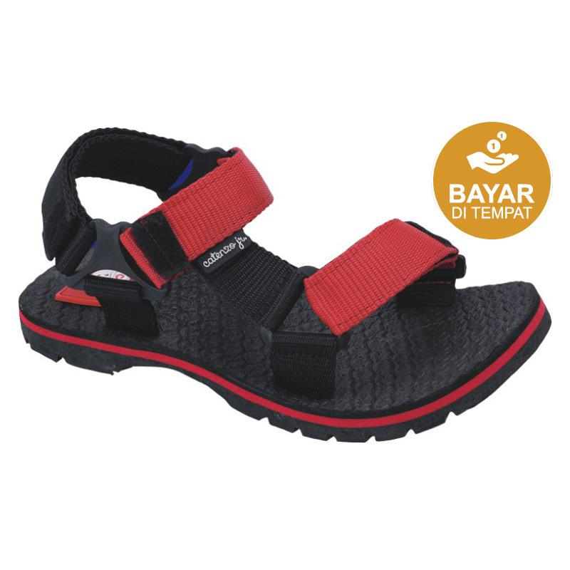 Harga Catenzo Junior Sandal Gunung Anak Cjj 002 Black Red Merk Catenzo Junior