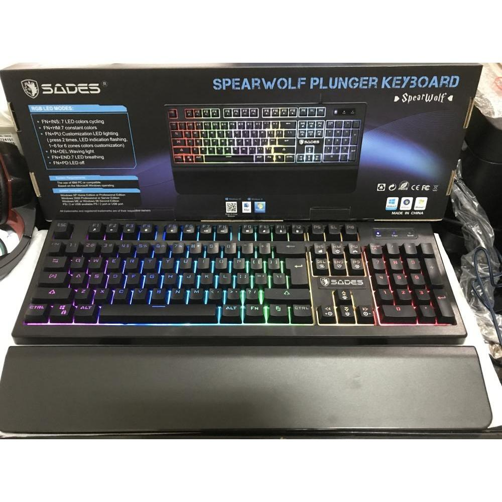 KEYBOARD SADES PLUNGER SPEARWOLF