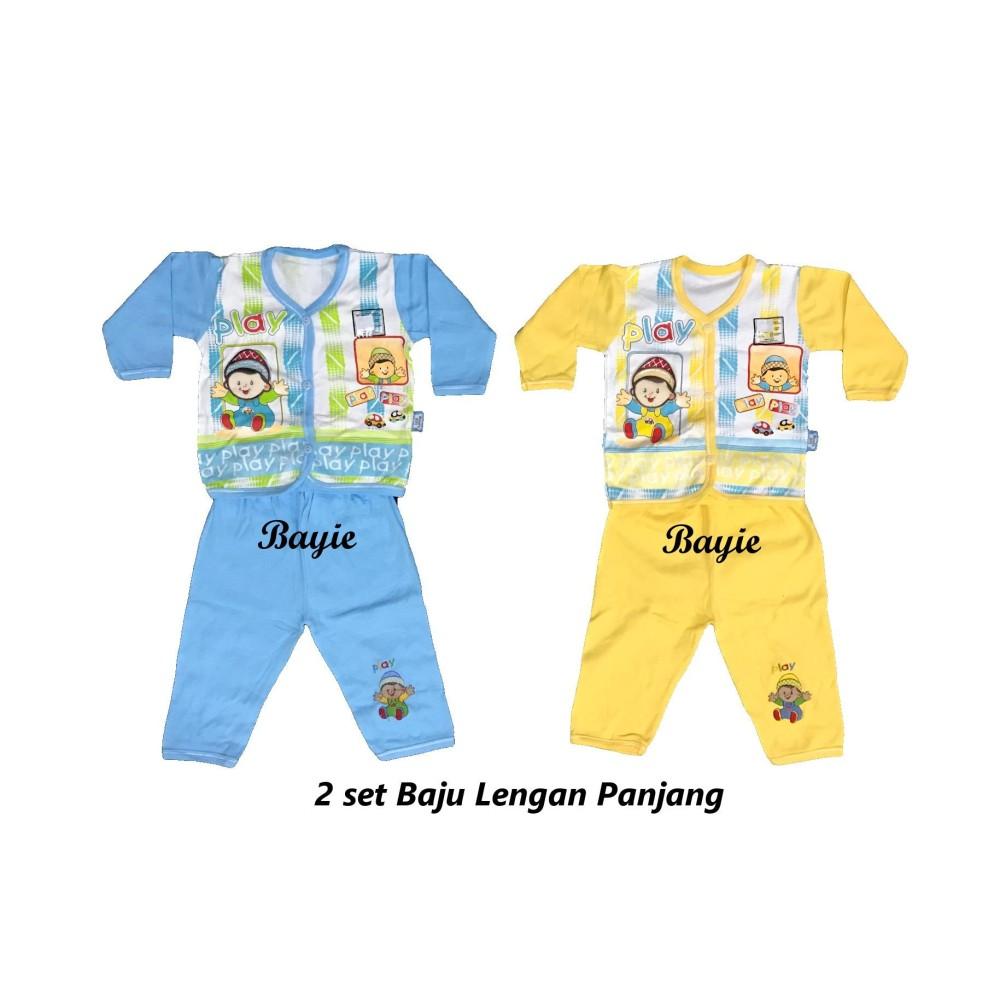 Cek Harga Baru Bayie 6 Set Setelan Baju Bayi Lengan Panjang Celana 2 Moms Gift Umur