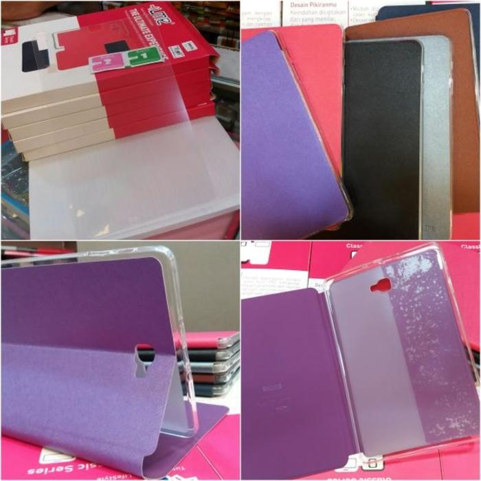 Paket Cover + Tempered Glass Samsung Tab A6 10 Inch With S Pen Ume