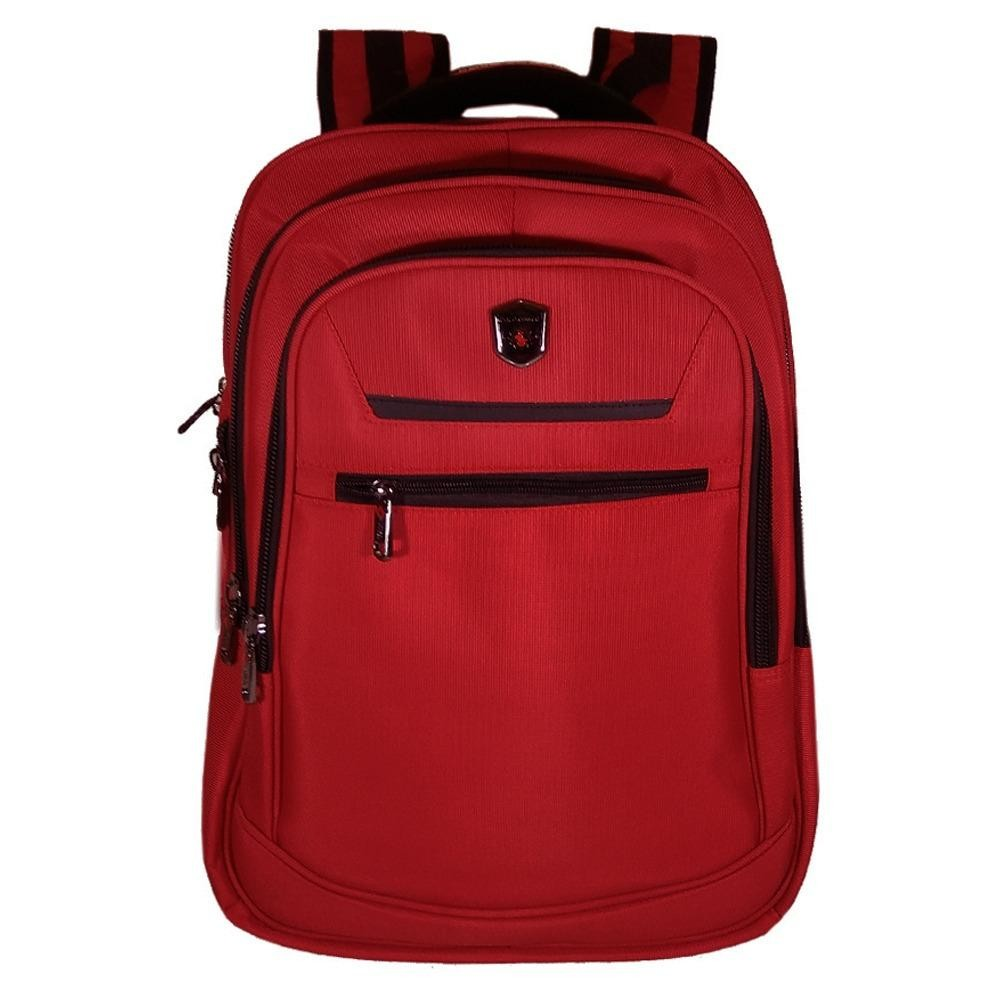 Dapatkan Segera Polo Power Tas Ransel Pria 18 Inchi Expandable 185003 Highest Spec Polo Backpack Import Original Red Raincover