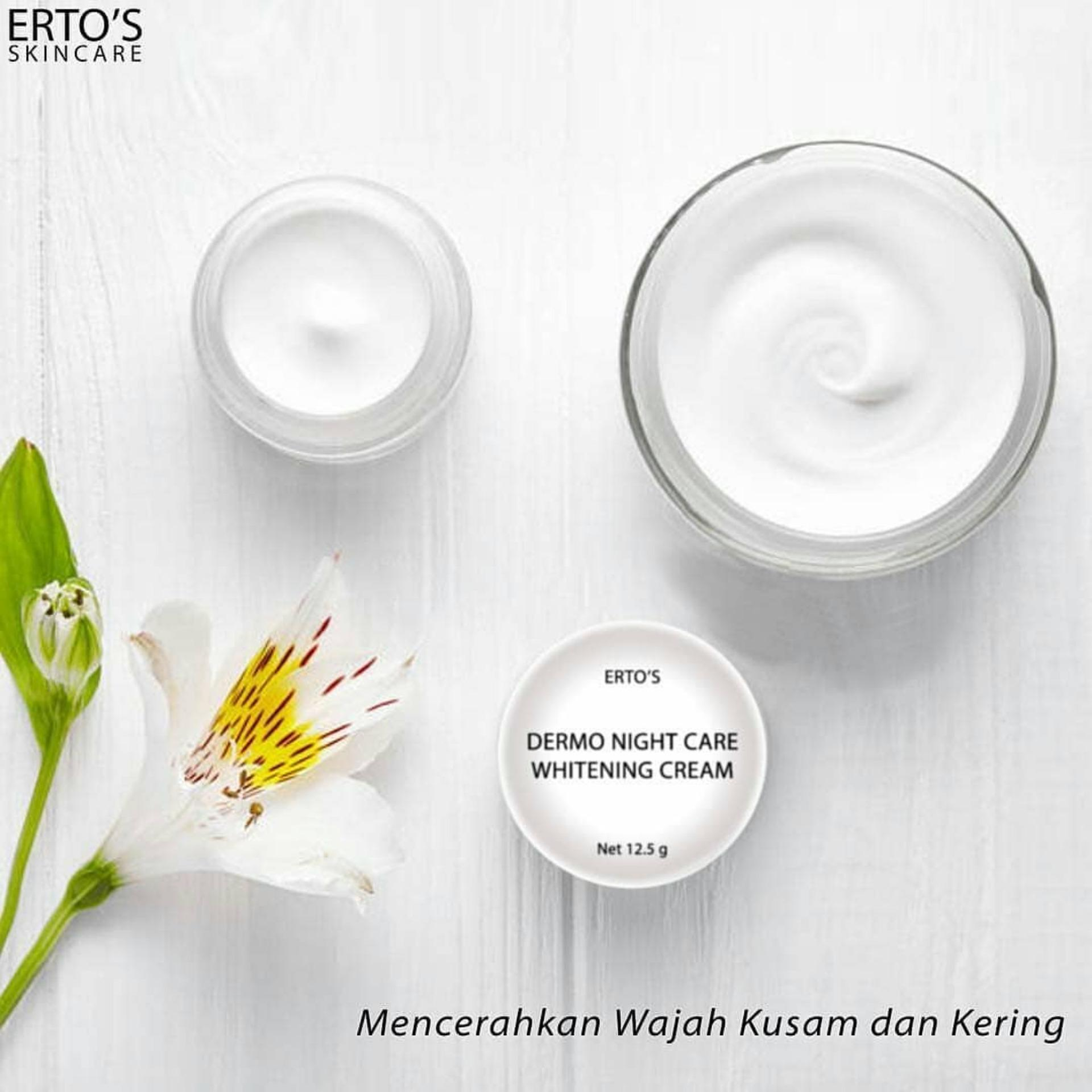 Ertos Paket Kinclong Facial Treatment Serum Kinclong Night Care Cream - 4 .