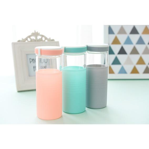 Maxim On The Go Melody Glass Beaker 330ml Botol Minum Kaca/Tumbler BL 11