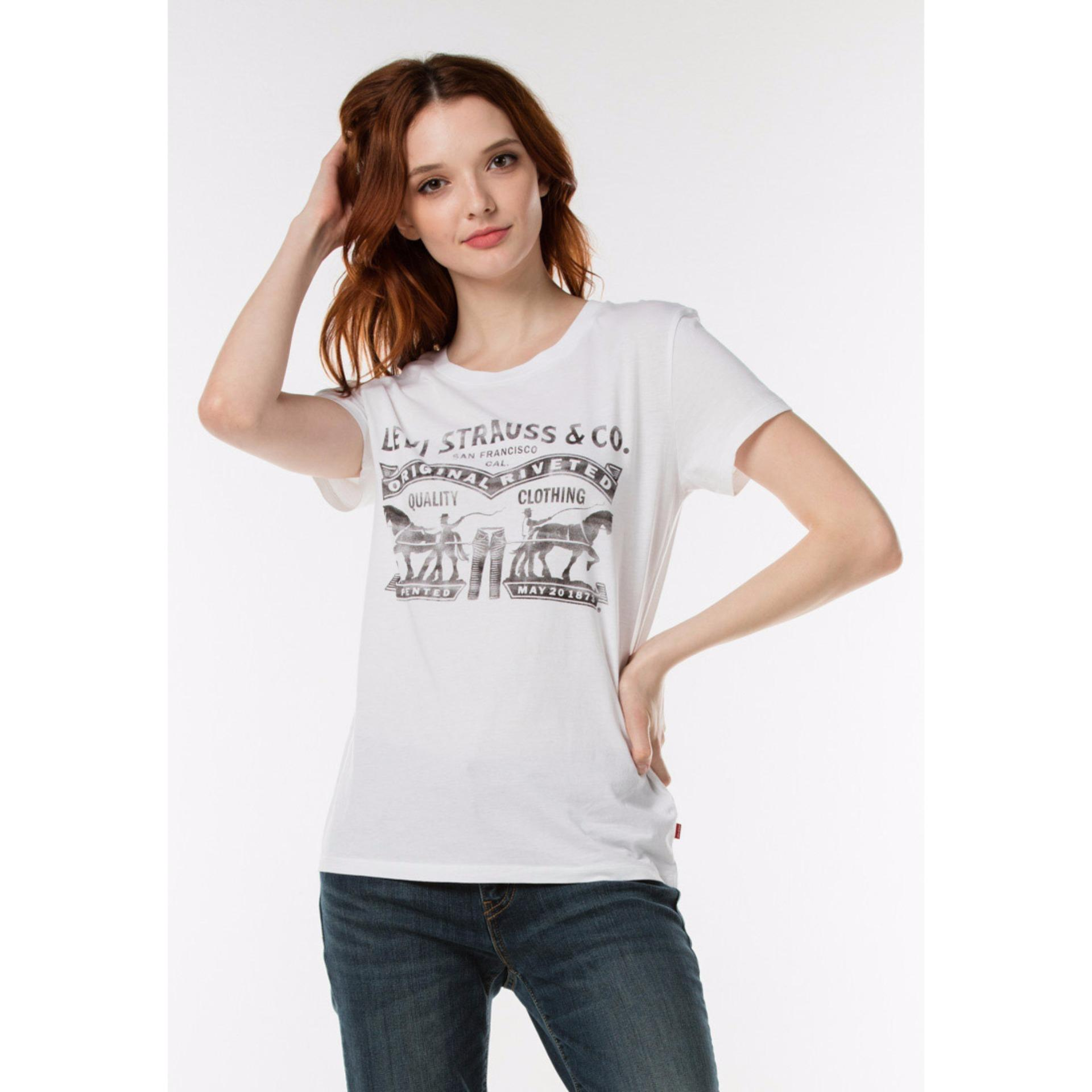 Jual Levi S Perfect Tee Two Horse Levi S Ori