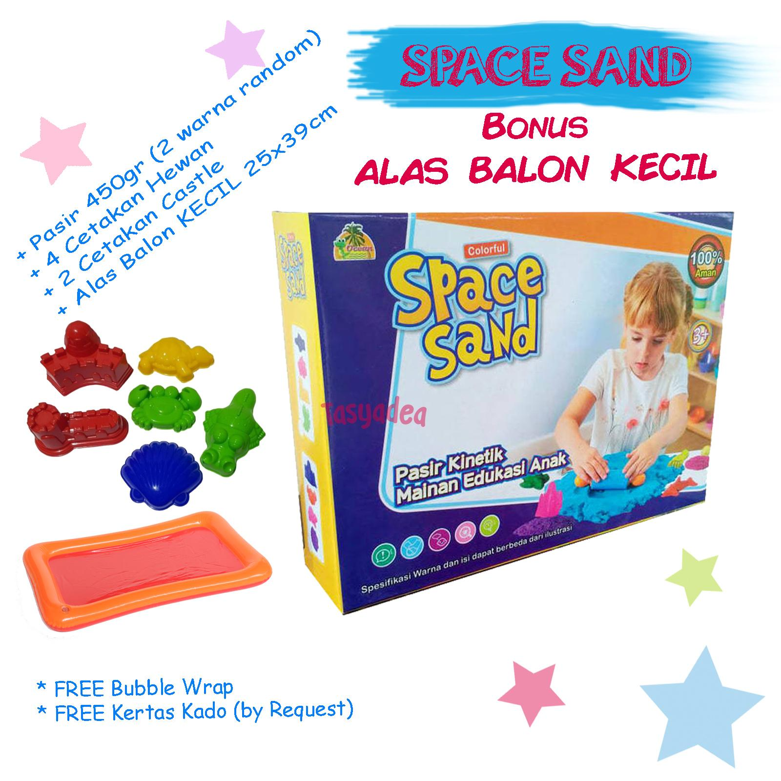 Mainan Pasir Ajaib Edukatif Anak MAGIC PLAY MODEL SPACE KINETIK SAND MURAH . a951d0ae1c