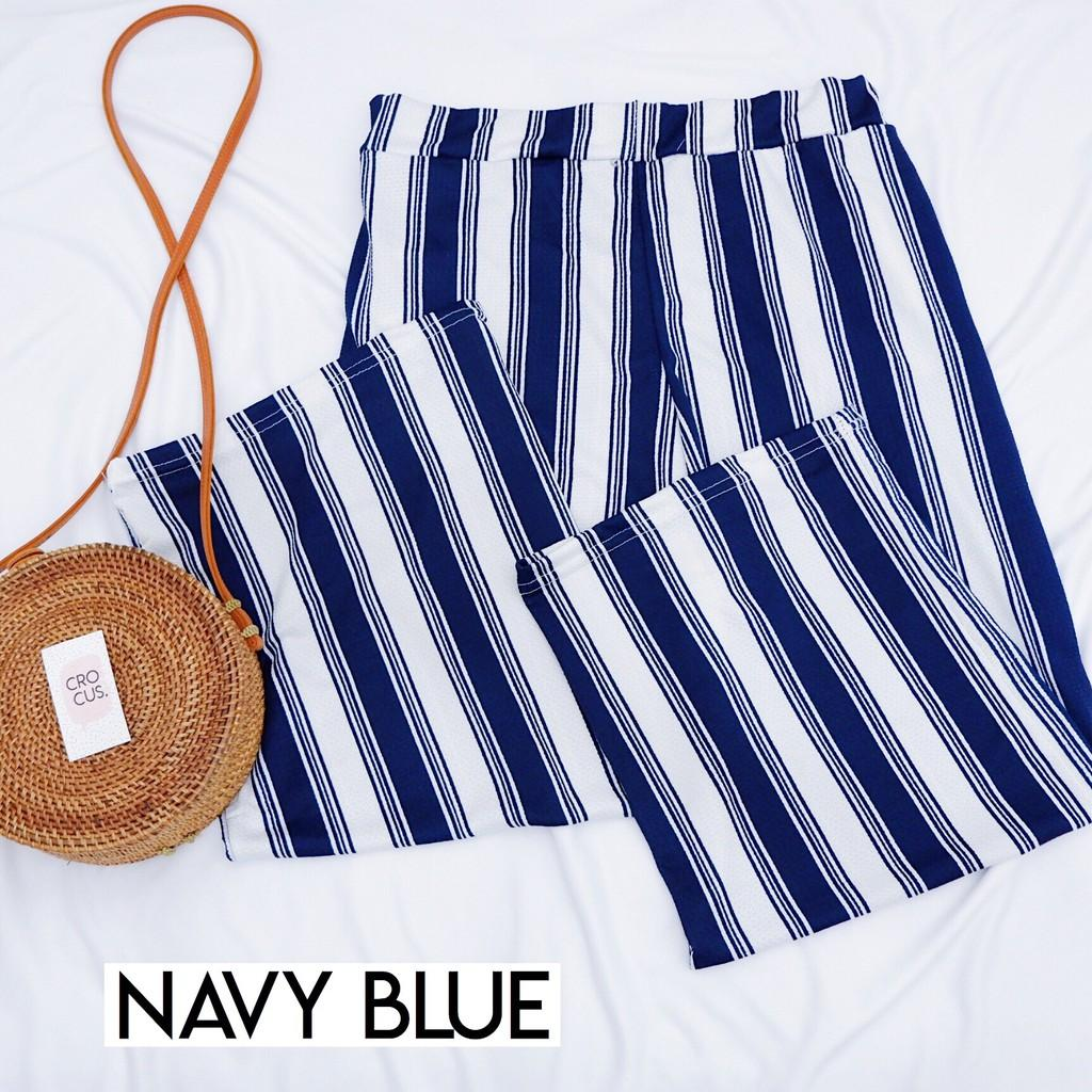Kiel Stripe Pants / Celana Wanita / Celana Kulot Wanita / Kulot